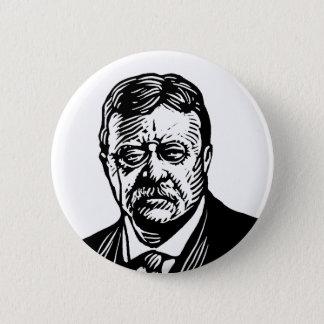 De knoop van Theodore Roosevelt Ronde Button 5,7 Cm