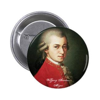 De Knoop van Wolfgang Amadeus Mozart Ronde Button 5,7 Cm