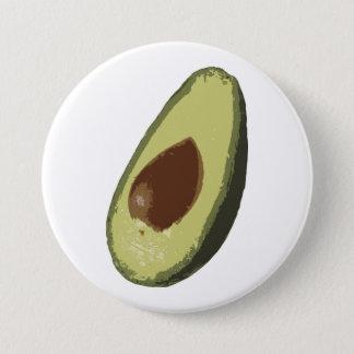 De knoopkenteken van de avocado ronde button 7,6 cm