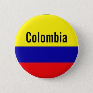 De knoopspeld van Colombia Ronde Button 5,7 Cm