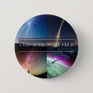 De Knopen van de Club van Astro van Castro Ronde Button 5,7 Cm