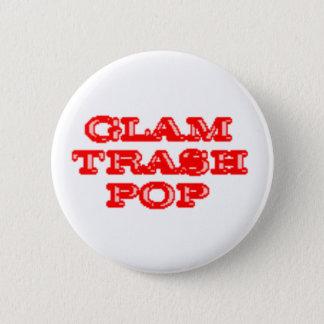 De Knopen van de Pop van het Afval van Glam Ronde Button 5,7 Cm