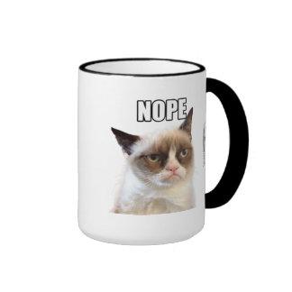 De knorrige Mok van Cat™ NOPE