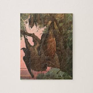 De Knuppels van de vleerhond door Austen, Vintage Puzzel
