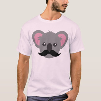 De Koala van de snor T Shirt