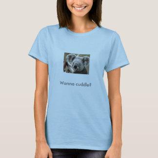 De koala, wil knuffelen? t shirt