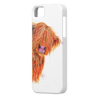 """De Koe """"Peekaboo"""" van het hoogland voor Iphone en Barely There iPhone 5 Hoesje"""