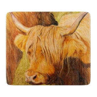De koe van het hoogland, Schots vee Snijplank
