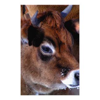 De koe van Jersey Briefpapier