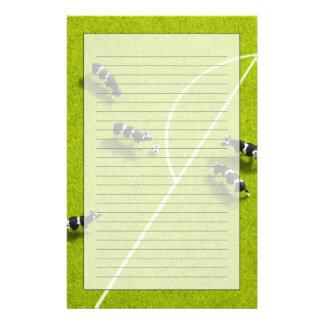 De koeien die voetbal spelen briefpapier