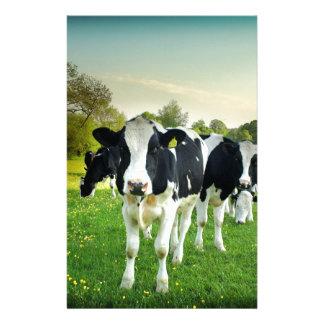De koeien houden van te staren briefpapier