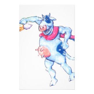 De Koeien van de sneeuw Briefpapier