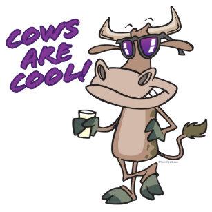 Afbeeldingsresultaat voor koele koeien cartoon