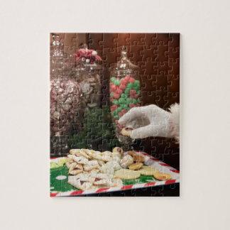 De Koekjes van de kerstman Puzzel