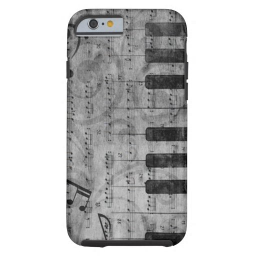 De koele antiek grungeeffect nota's van de tough iPhone 6 case