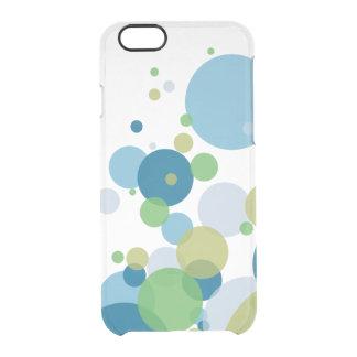 De koele Bellen van de Kleur Doorzichtig iPhone 6/6S Hoesje