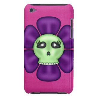 De koele Bloem van de Schedel van de Zombie iPod Touch Hoesje