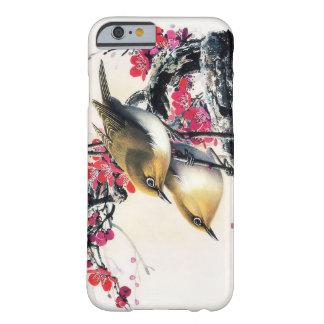 De koele Chinese mooie bruine boom van de vogel ro Barely There iPhone 6 Hoesje