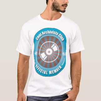 De koele Club van Archivarissen T Shirt