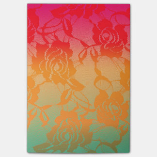De koele Funky Kleurrijke Gradiënt van de Zomer Post-it® Notes