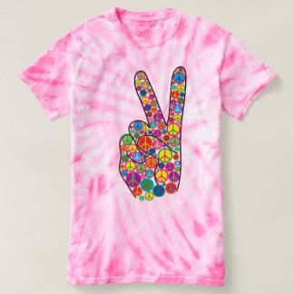 De koele, Kleurrijke, en Hip Tekens van de Vrede T Shirts