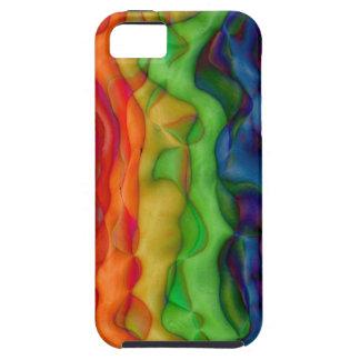 De koele Regenboog van de Trots van de Hippie van  Tough iPhone 5 Hoesje