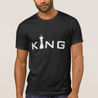 De koele Speler van het Schaak van de Typografie T Shirt