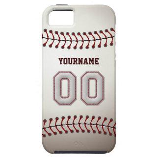 De koele Steken van het Honkbal - Douane Nummer 00 Tough iPhone 5 Hoesje
