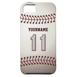 De koele Steken van het Honkbal - Douane Nummer 11 Tough iPhone 5 Hoesje