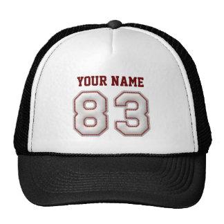 De koele Steken van het Honkbal - Naam en Nummer Pet