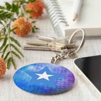 De koele Ster van de Vlag van Somalië Sleutelhanger