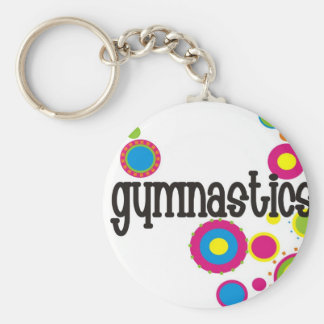De Koele Stippen van de gymnastiek Sleutelhanger