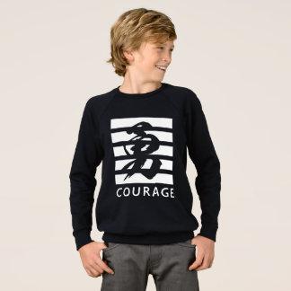 De koele T-shirt van de moed (Chinees karakter)