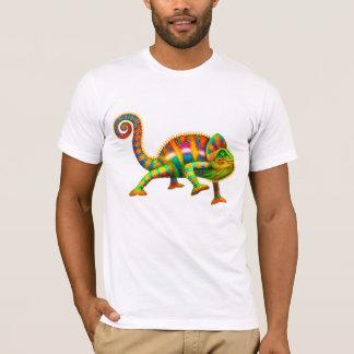 De koele T-shirt van het Kameleon van de Panter