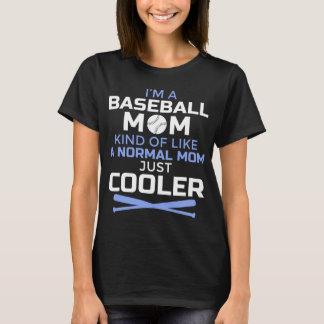 De koele T-shirt van het Mamma van het Honkbal -