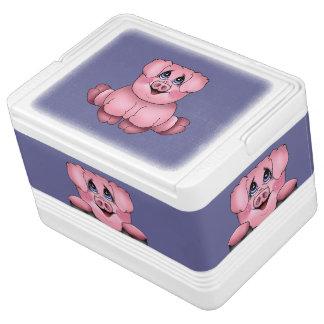 De Koeler van Piggy van Peekaboo Igloo Koelbox