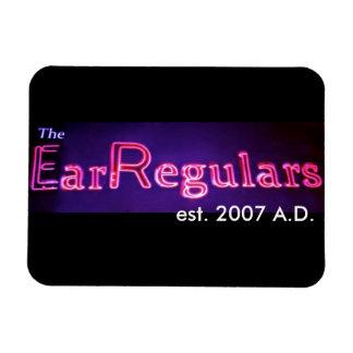 De koelkastmagneet van EarRegulars Magneet