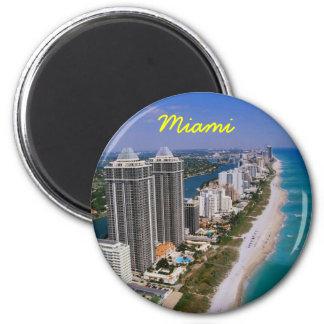 De koelkastmagneet van Miami Magneet