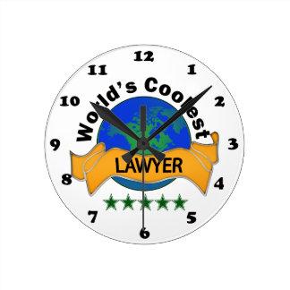 De Koelste Advocaat van de wereld Ronde Klok Medium