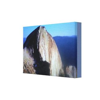 De Koepel van Yosemite van de Rots Canvas Print