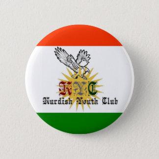 De Koerdische Club van de Jeugd Ronde Button 5,7 Cm