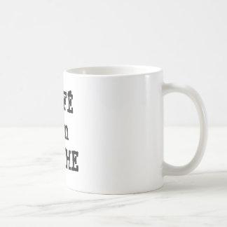 De koffie bedriegt Leche koffiemok