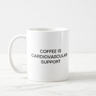 DE KOFFIE IS CARDIOVASCULAIRE STEUN KOFFIEMOK