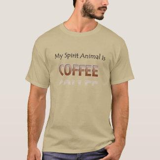 De koffie is Mijn Overhemd van het Mannen van de T Shirt