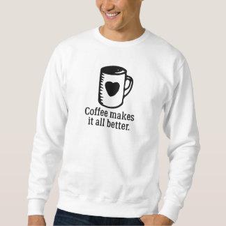 De koffie maakt het Al Beter Trui