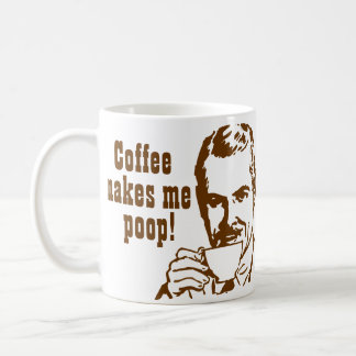 De koffie maakt me Achterschip! Koffiemok