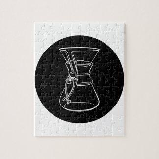 De Koffie van Chemex Puzzel