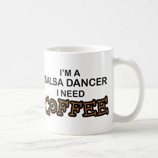 De Koffie van de behoefte - Danser Salsa Koffiemok