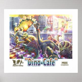 De Koffie van de dinosaurus Poster