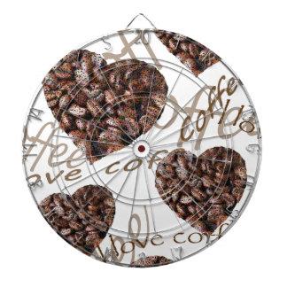 """""""De Koffie van de Liefde van I! """" Dartborden"""